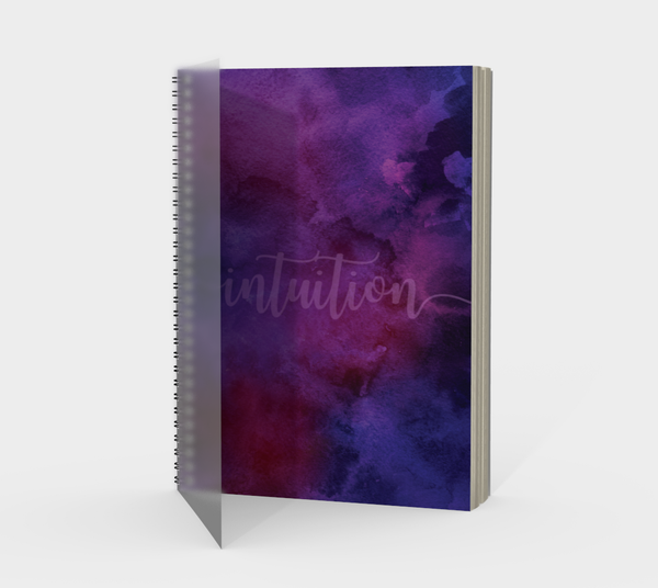 Intuition Spiral Notebook