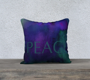 "Peace Pillowcase – 18"" x 18"""