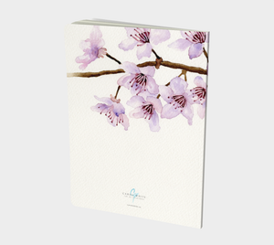Cherry Blossoms Notebook Large