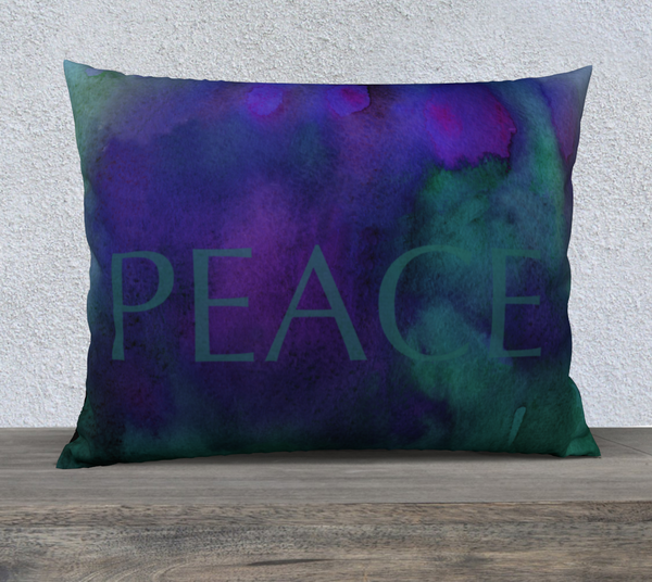 "Peace Pillowcase – 26"" x 20"""