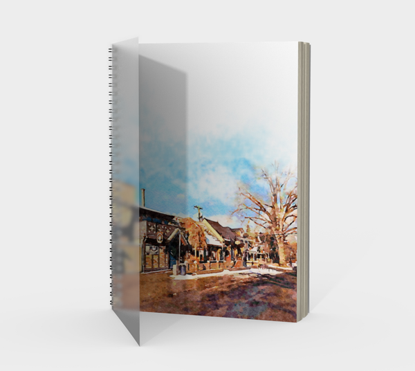 Kensington Pub Spiral Notebook
