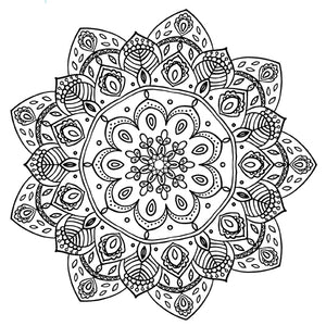 Mandala 11 Colouring Sheet