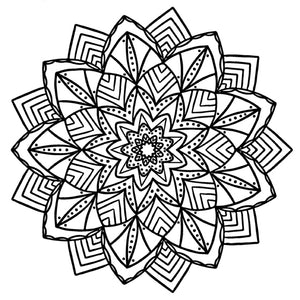 Mandala 13 Colouring Sheet