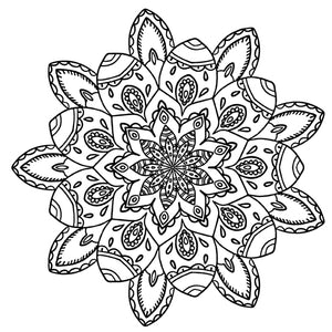 Mandala 15 Colouring Sheet