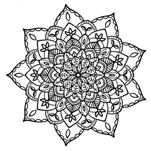 Mandala 18 Colouring Sheet