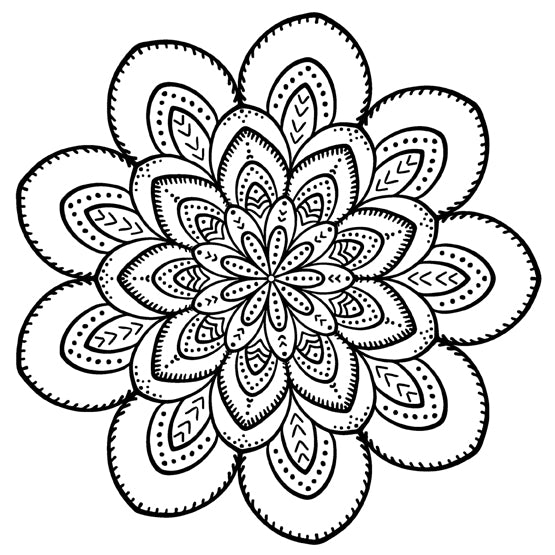 Mandala 19 Colouring Sheet