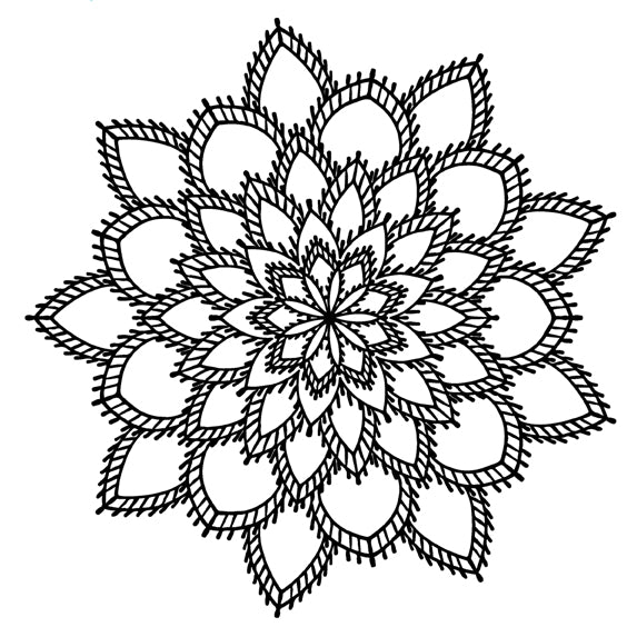 Mandala 20 Colouring Sheet