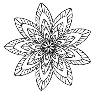Mandala 21 Colouring Sheet