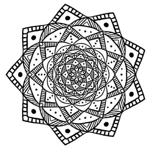 Mandala 23 Colouring Sheet