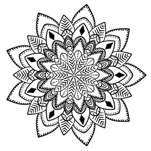 Mandala 24 Colouring Sheet