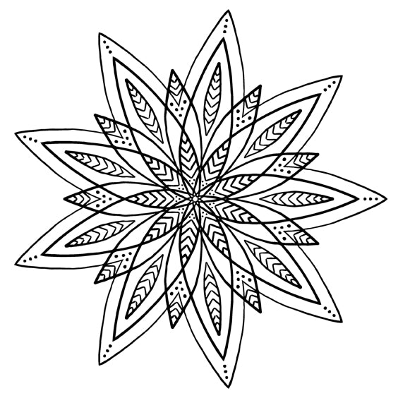 Mandala 26 Colouring Sheet