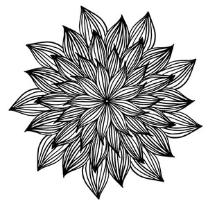Mandala 27 Colouring Sheet
