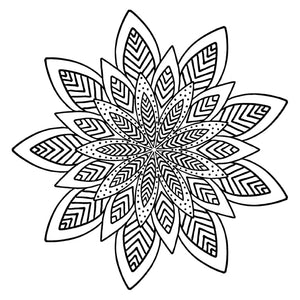 Mandala 29 Colouring Sheet