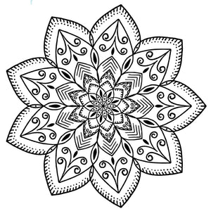 Mandala 2 Colouring Sheet