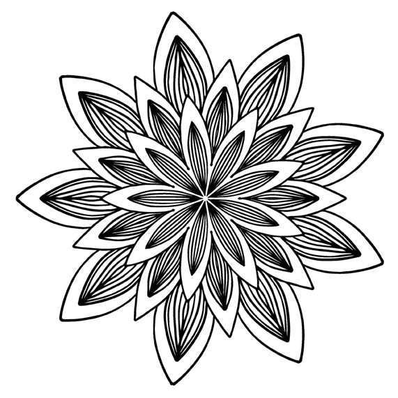 Mandala 30 Colouring Sheet
