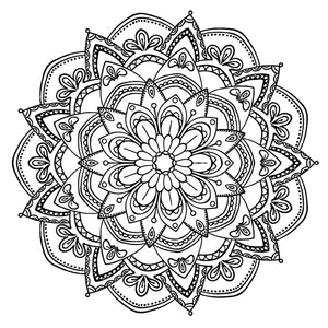 Mandala 33 Colouring Sheet