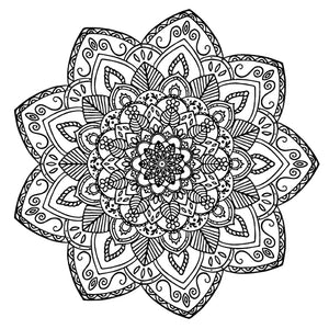 Mandala 34 Colouring Sheet