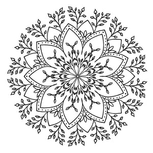 Mandala 35 Colouring Sheet
