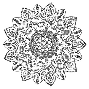 Mandala 38 Colouring Sheet