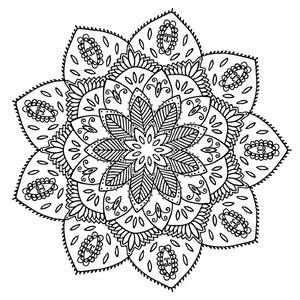 Mandala 39 Colouring Sheet