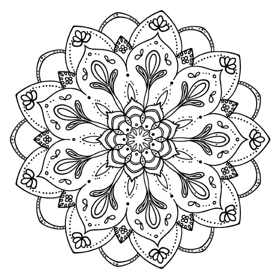 Mandala 42 Colouring Sheet