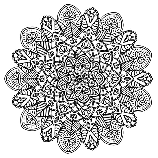 Mandala 43 Colouring Sheet