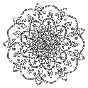 Mandala 45 Colouring Sheet