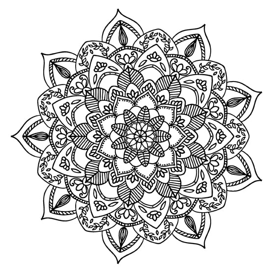 Mandala 46 Colouring Sheet