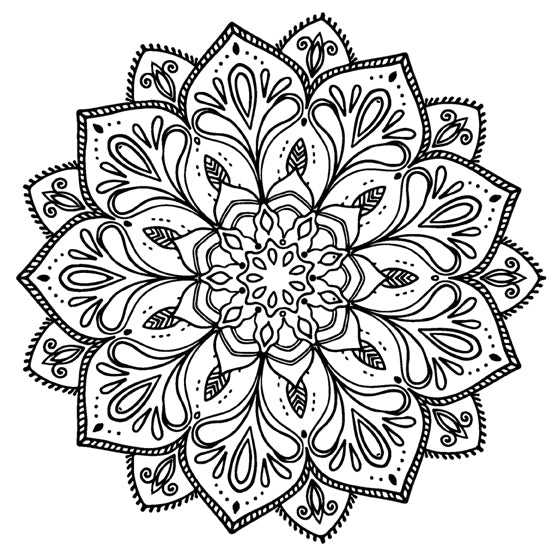 Mandala 49 Colouring Sheet