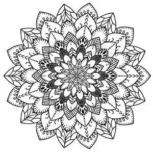 Mandala 4 Colouring Sheet