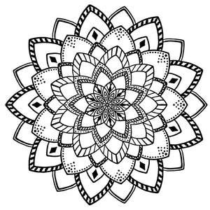Mandala 5 Colouring Sheet