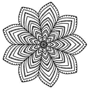Mandala 6 Colouring Sheet