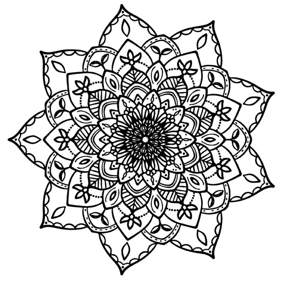 Mandala 7 Colouring Sheet