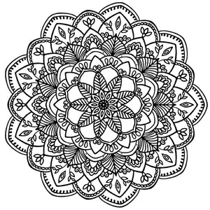 Mandala 9 Colouring Sheet