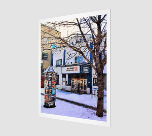 Kensington Plaza Theatre Art Print