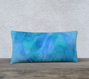 "Serenity Pillowcase – 24"" x 12"""