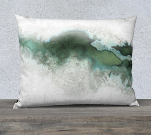 "Green Marble Pillowcase – 26"" x 20"""