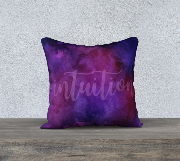 "Intuition Pillowcase – 18"" x 18"""