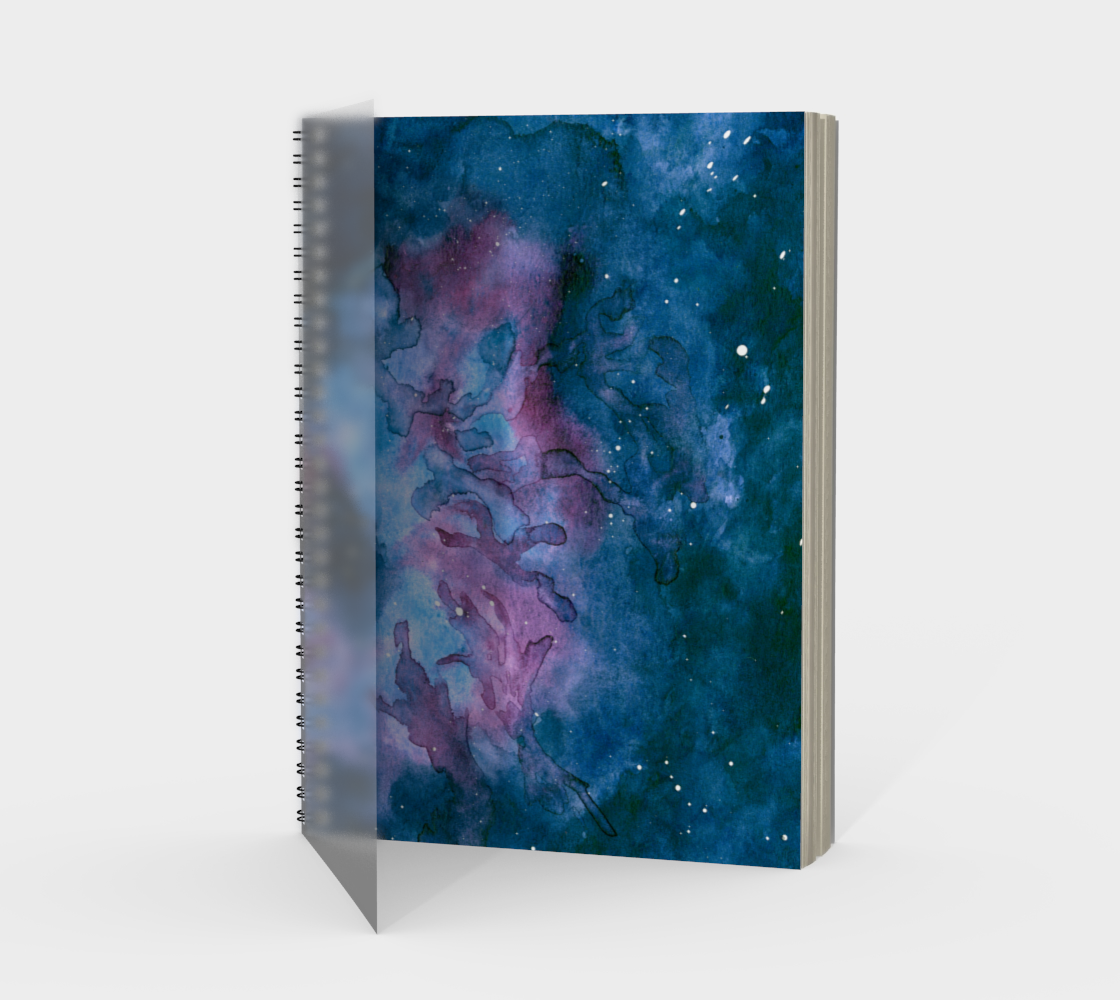 Nebular Dream Spiral Notebook
