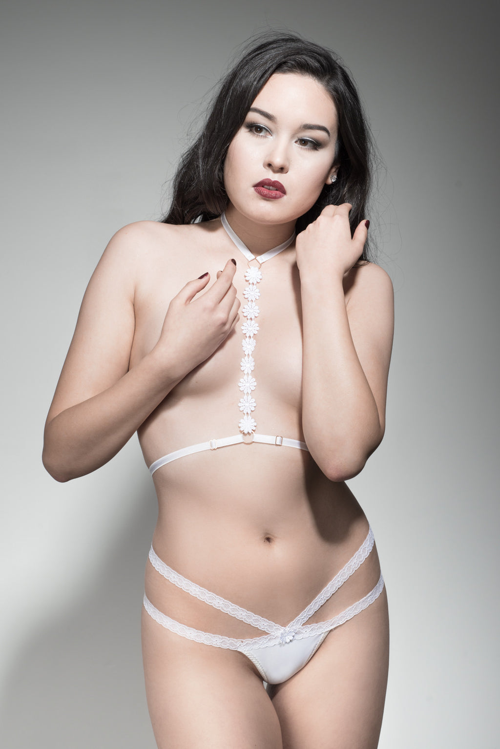 Moonflower fashion harness