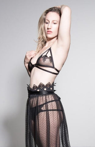 Poison Ivy Lace Playsuit