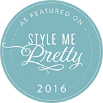 Style me pretty featured on
