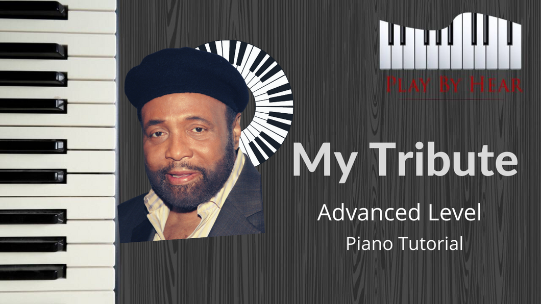 My Tribute by Andre Crouch | Advanced Piano Tutorial