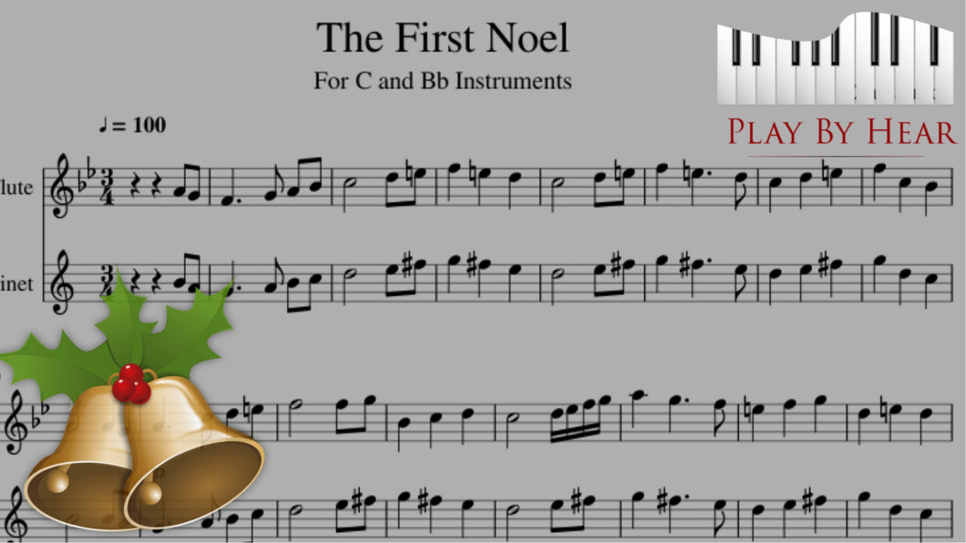 The First Noel Traditional Christmas Carol