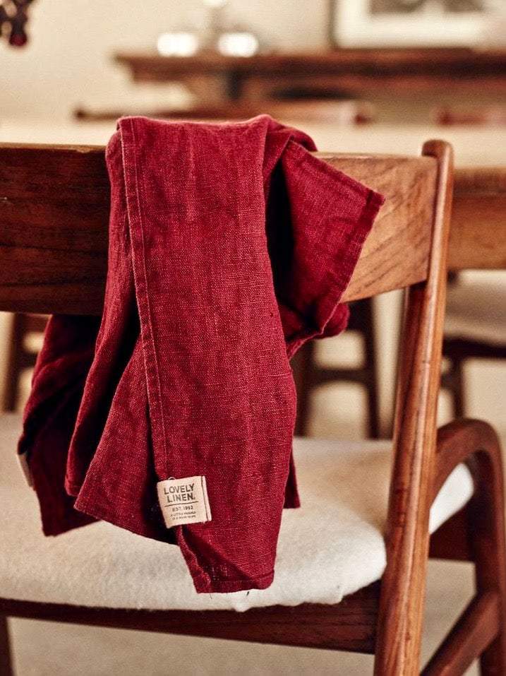 Lovely Linen Kitchen Towel