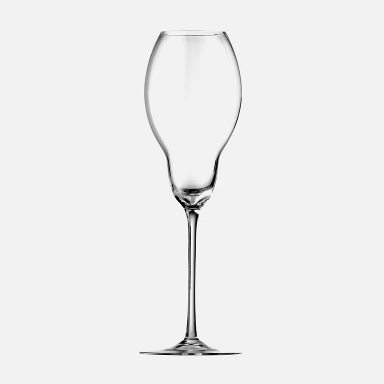 ULTRALIGHT French Champagne Glass (Mouth blown, box of 2)