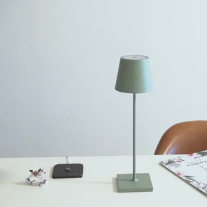 POLDINA PRO Portable Lamp Sage Green - NEW COLOUR!
