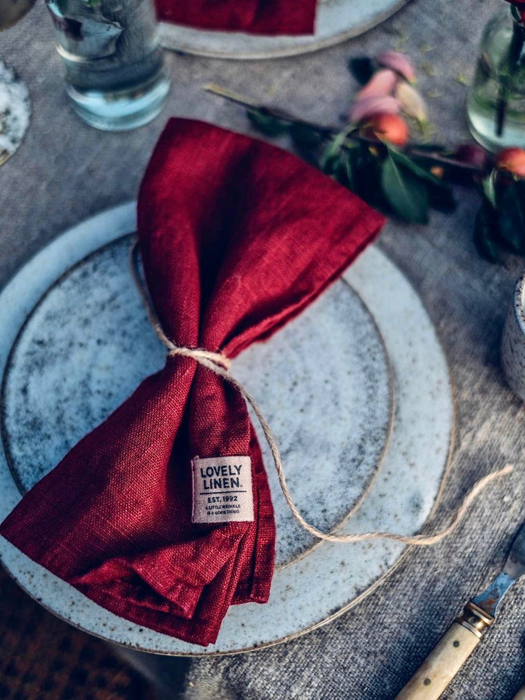 Lovely Linen Napkins (set of 4)
