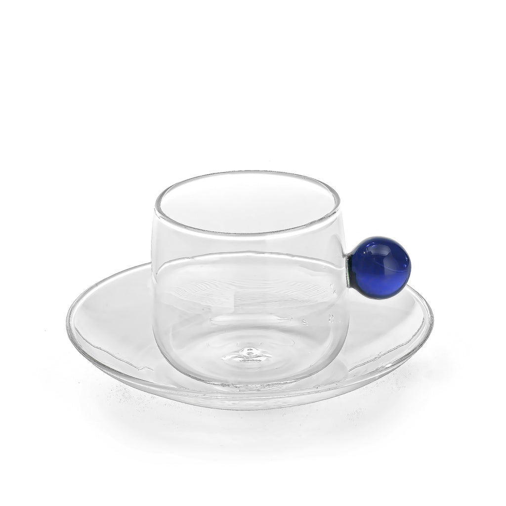 BILIA Espresso Cup and Plate