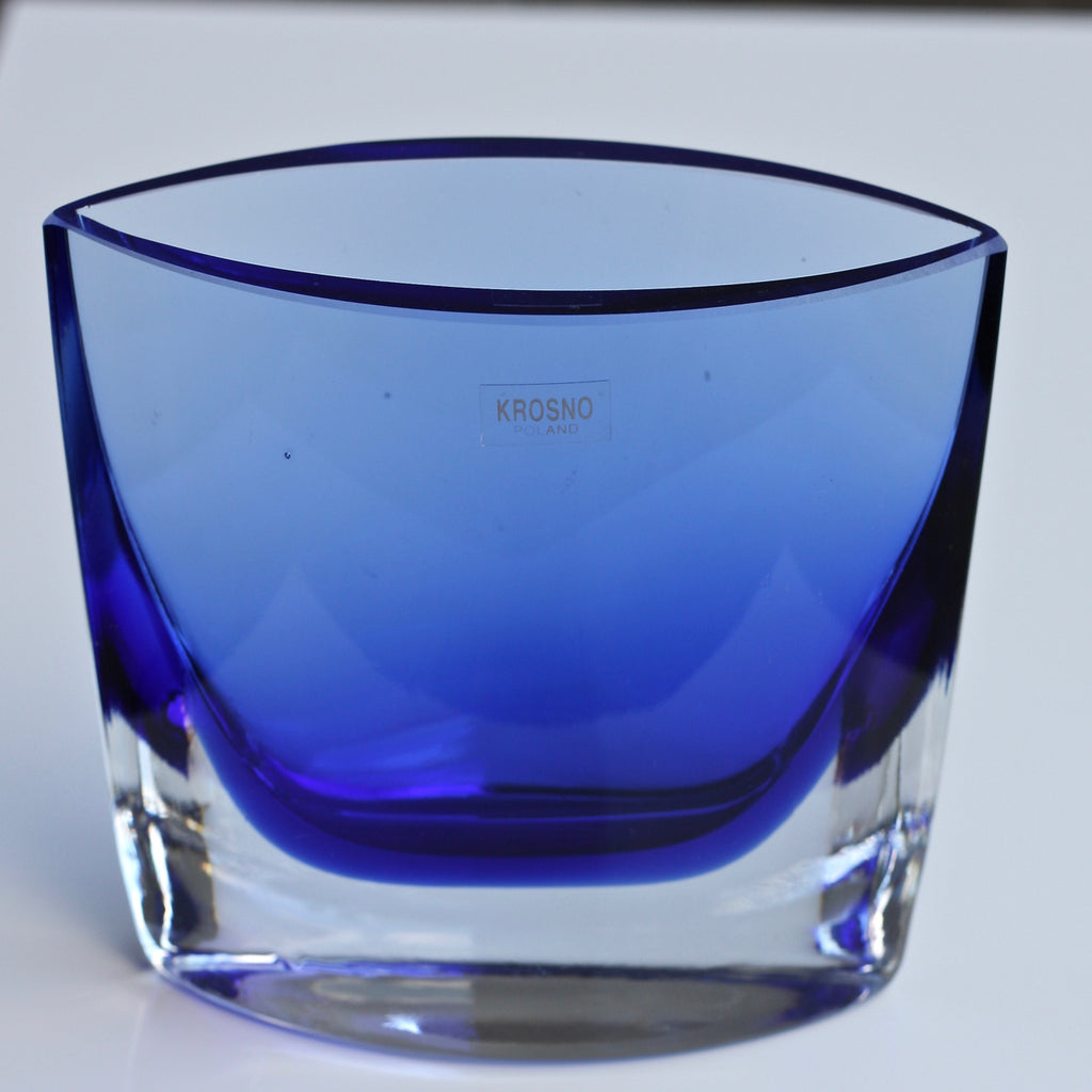 Vintage KROSNO art glass vase